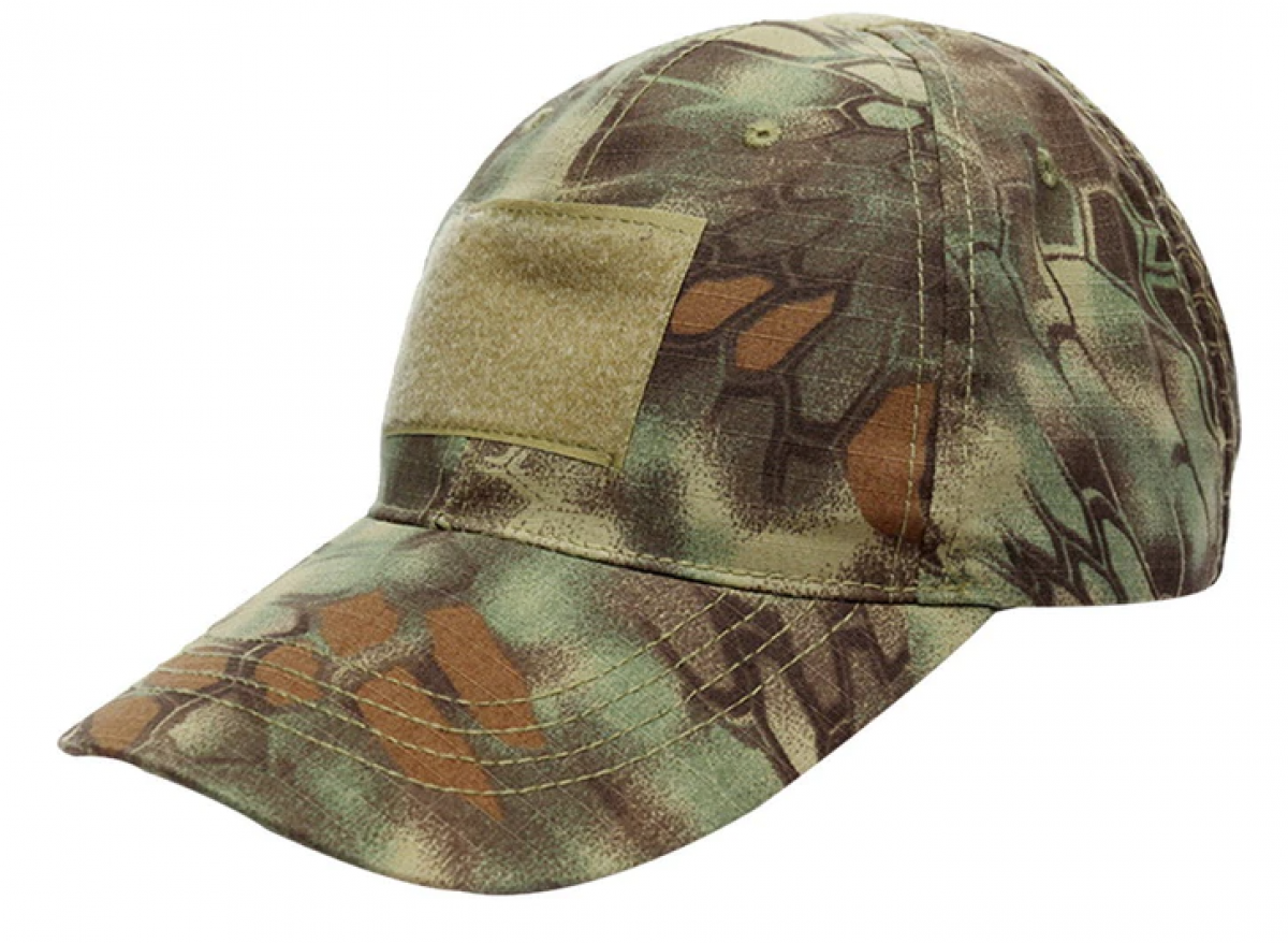 Kappe Basecap in Tarnfarbe - Jungle Crepe Camouflage