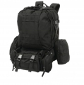 Heavy-Duty Mountaineer's Backpack - XL Rucksack ca. 55 Liter - schwarz