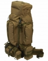 Heavy-Duty Mountaineer's Backpack - XXL Rucksack ca. 95 Liter - military grün